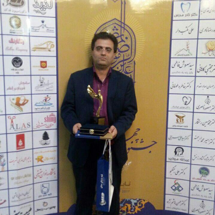 کسب تندیس زرین جشنواره چهره های ماندگار توسط استاد حسن کیانی نژاد