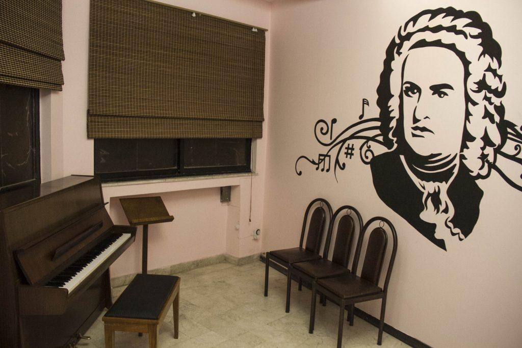 کلاس پیانو ( فضا سازی کلاسیک )