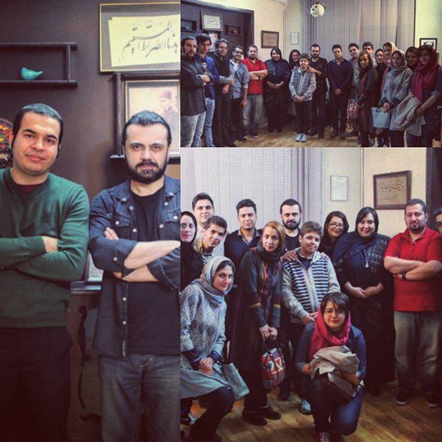 هنرجویان آموزشگاه عارف مشهد