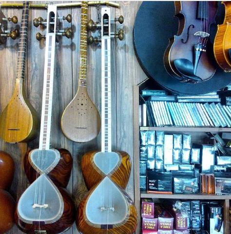 سازهای فروشگاه الحان